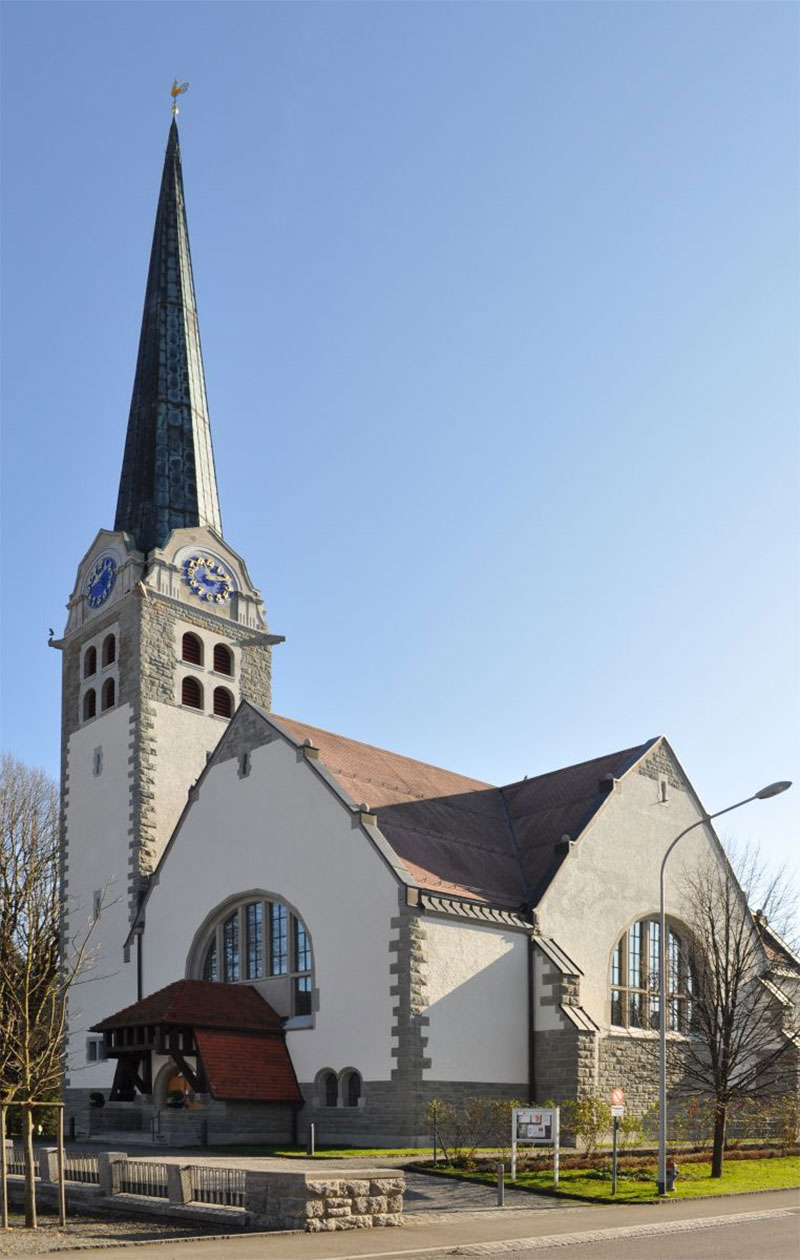 Reformierte Kirche Bruggen