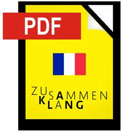 Pressemappe französisch